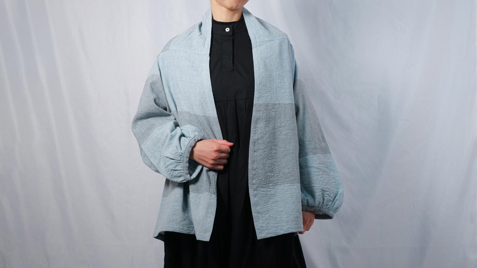 HAORi | 羽織りジャケット(リネンウール)