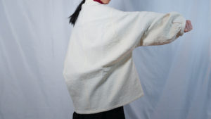 羽織りジャケット(ジャガード)
